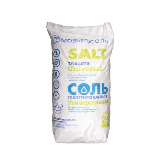 Соль таблетированная (25 кг)